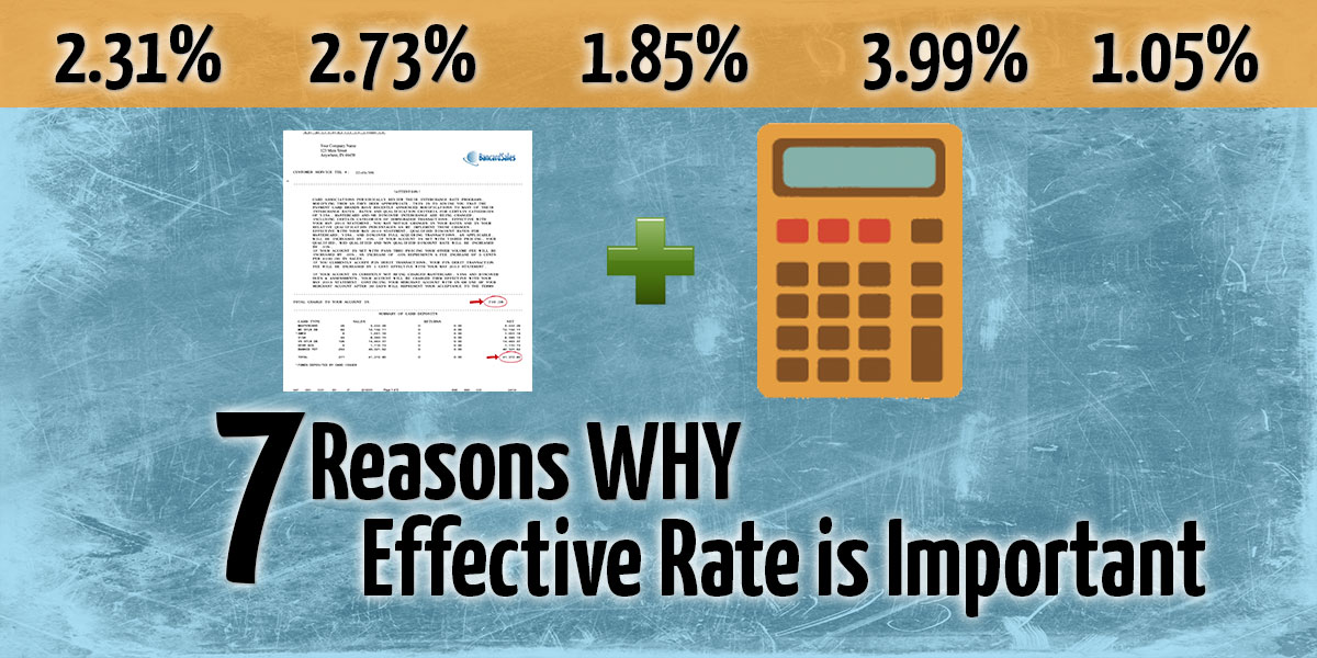 Why Effective Rate is IMportant